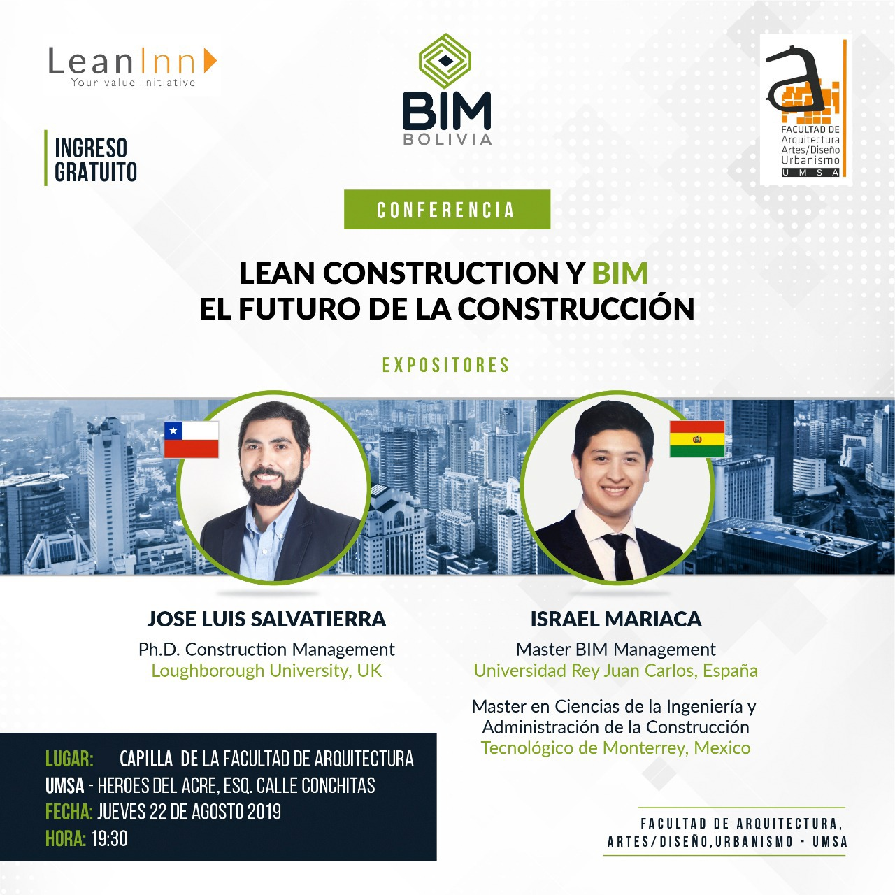 CONFERENCIA LEAN CONSTRUCCION Y BIM